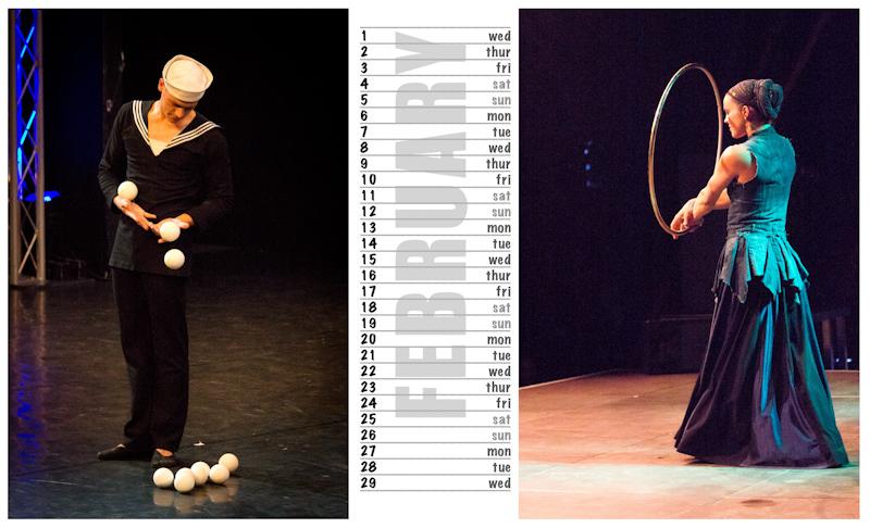 Jugglers Calendar 2012 photos by Luke Burrage - 2.