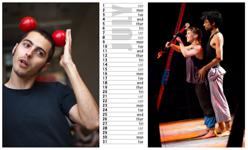 Jugglers Calendar 2012 photos by Luke Burrage - 7.