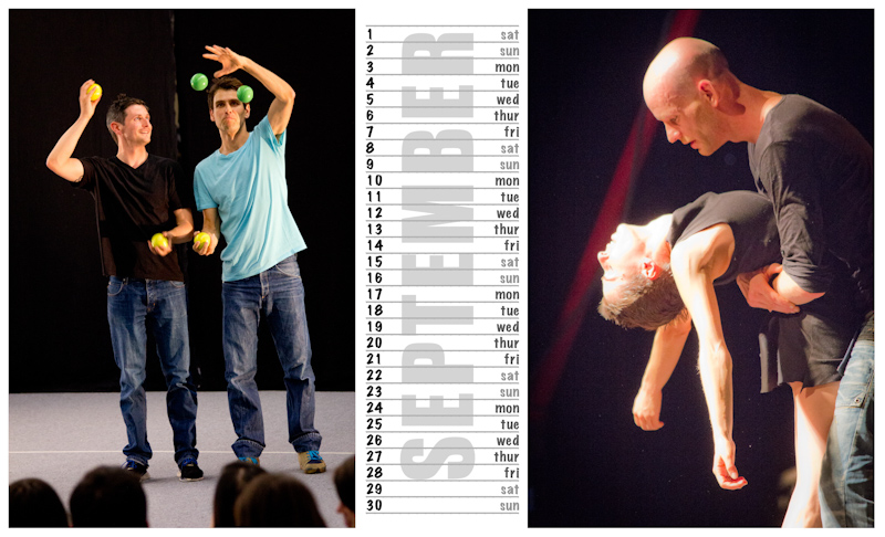 Jugglers Calendar 2012 photos by Luke Burrage - 9.