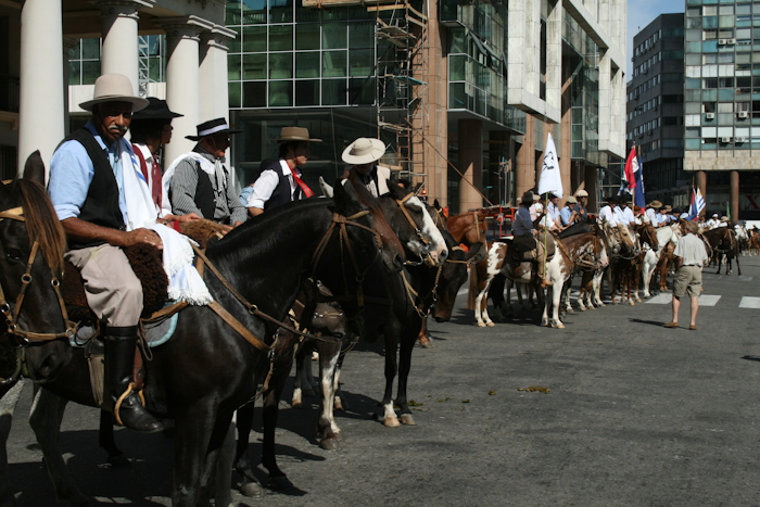 Gaucho Horse Parade, an annual occurrence I was lucky enough to witness in 2009.