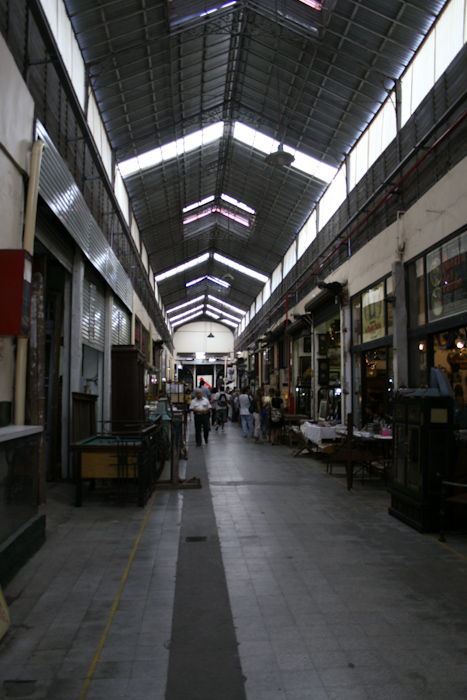 Indoor market in San Telmo (2008).