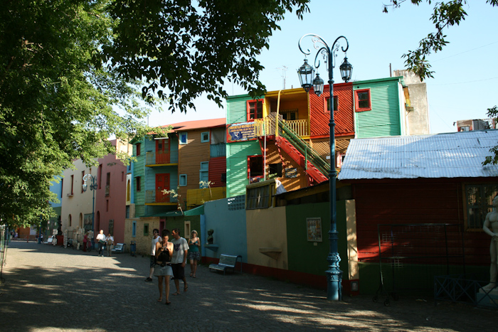 The painted houses in La Boca (2008, not mentioned on the podcast).