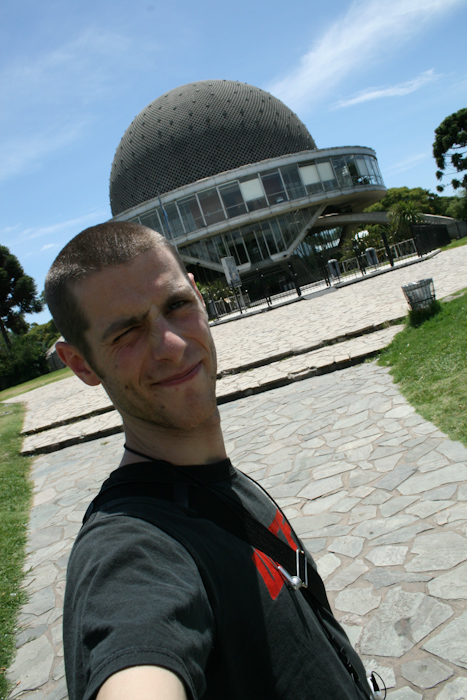 Me at the Planetarium (2008).