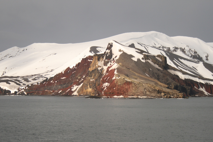 The very visible geology in Antarctica due to complete lack of soil and vegetation. Just imagine if we got rid of all the ice, and how many new fossils we could find! That said, I'd rather keep the ice...