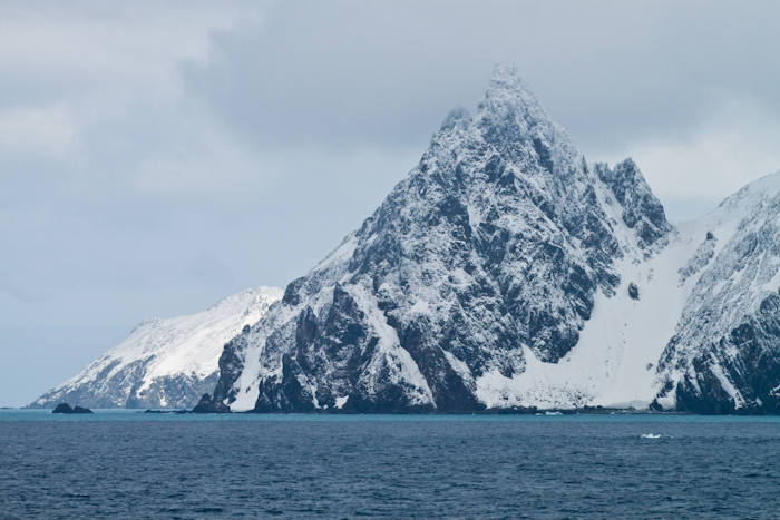 The bay on Elephant Island where Shackleton and crew landed.