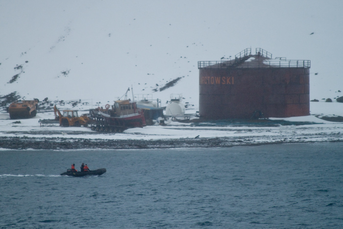 The Arctowski Polish Antarctic Research Base, Admiralty Bay.