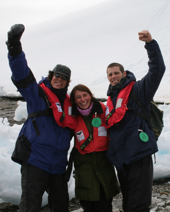 Peter Hillary (son of Sir Edmund Hillary), Pola, and yours truly (2007).