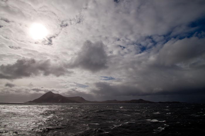 The truth is that the Horn is actually a small island. South of it is the Drake Passage, but there are another two navigable shipping routes further north; the Megallanic and Beagle Channels.