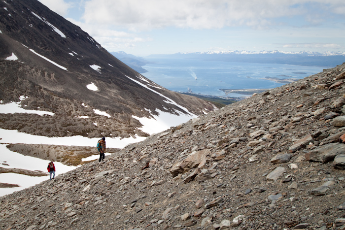 Climbing to the Martial Glacier (2009).