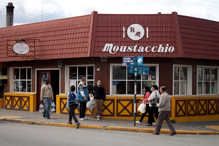 Eat at Moustacchio.