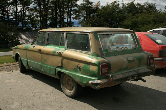Argentinian car, note the