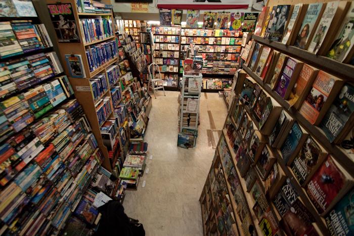 St. Kevins Arcade 2nd Hand Bookshop.