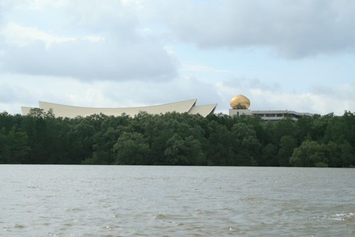 The sultan's palace in Brunei.