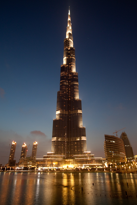 Here's the Burj Kalifa again, without the fountains.