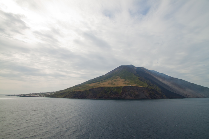 Another wide view of Stromboli.