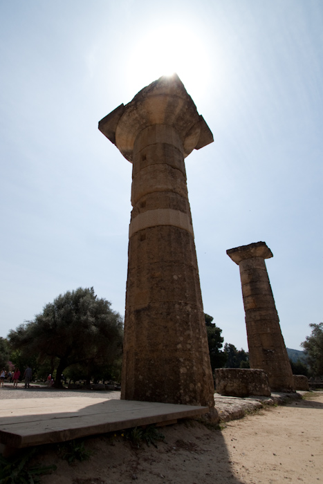 More columns.