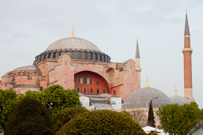 Haja Sofia, once the biggest cathedral in the world.
