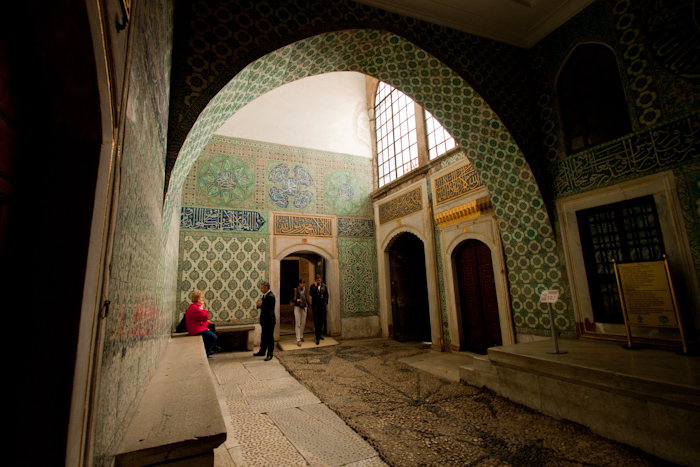 All these courtyards and rooms were once filled with beautiful women and testicle-less men.