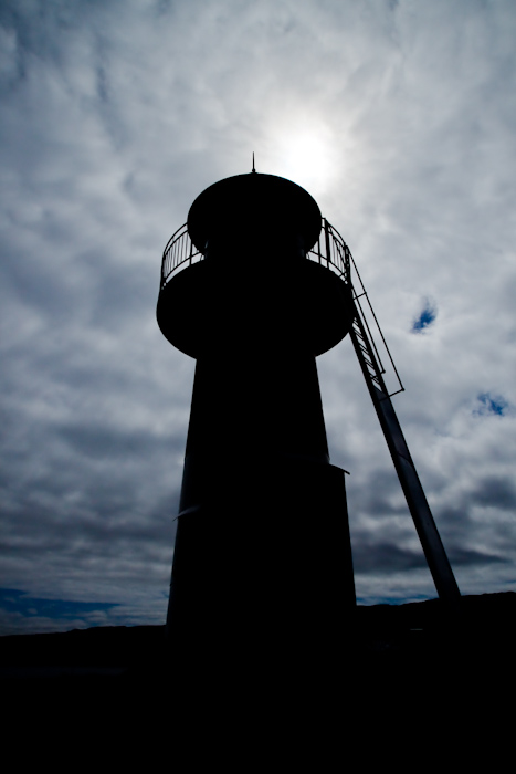 The lighthouse over Torshavn.