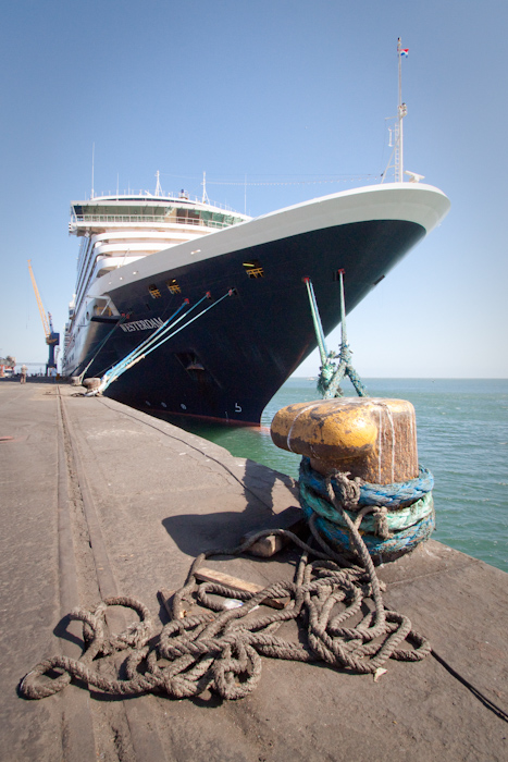 The Westerdam, ship of drama. Maybe, if I ever work out what's going on on this ship, I'll write a blog post about it.