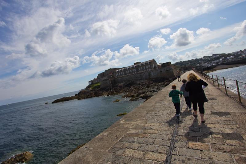 Summer cruising: St. Peter Port, Guernsey.