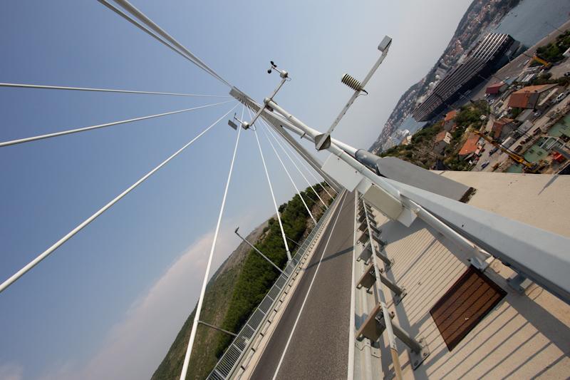 A bridge in Dubrovnik.