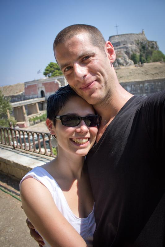 In Corfu.