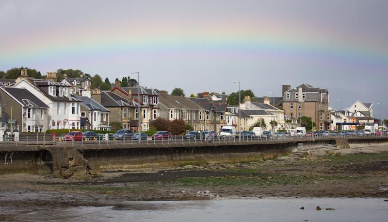 Rainbow over Dunoon.