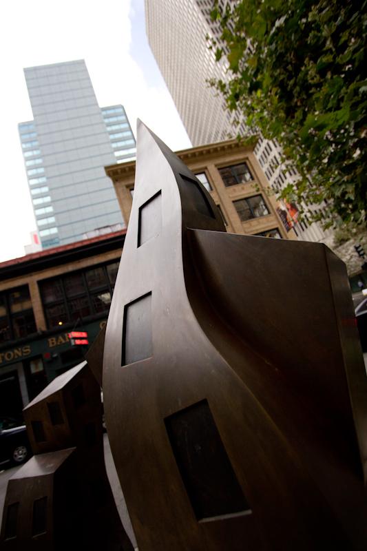 Downtown San Francisco.