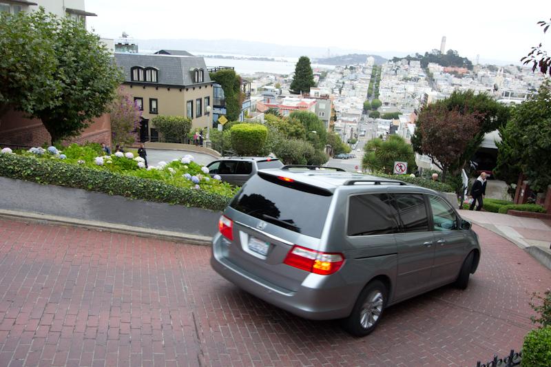 Windingest road in SF.
