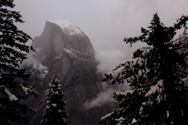 The Half Dome makes an appearance!