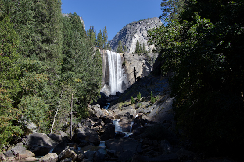 Vernal Falls one more time.
