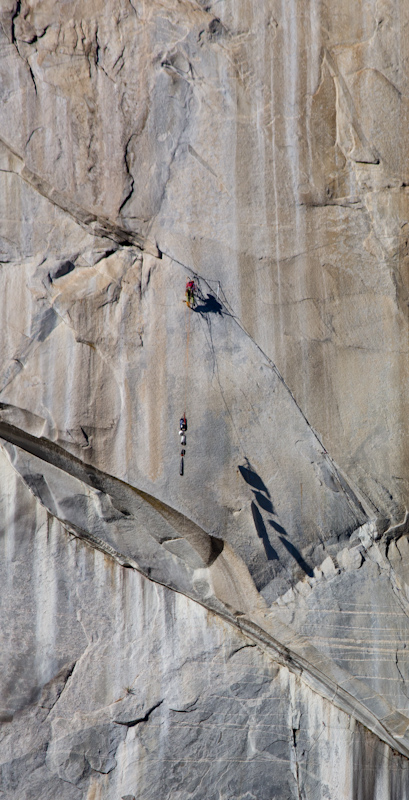 A climber on El Capitan.