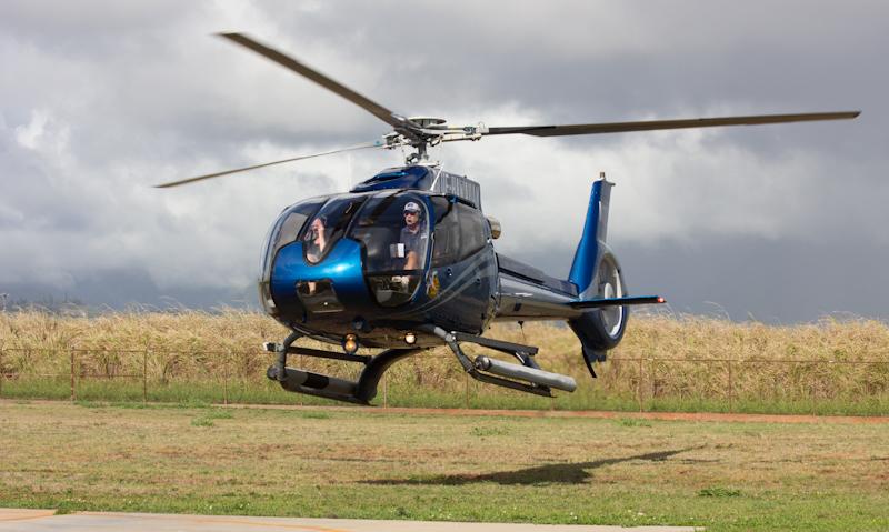 Hawaii on the Zaandam: Helicopter tour around Kauai.