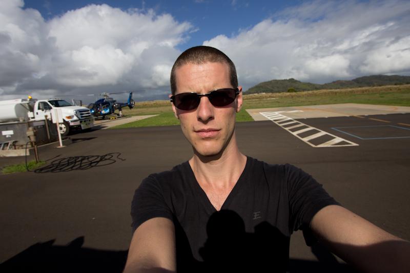 Hawaii on the Zaandam: Ready to fly!
