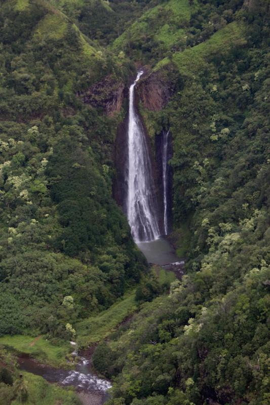 Hawaii on the Zaandam: The Jurassic Park waterfall!