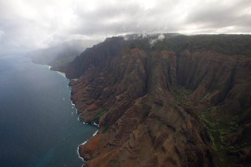 Hawaii on the Zaandam: Napali coast, more backdrops from Jurassic Park.