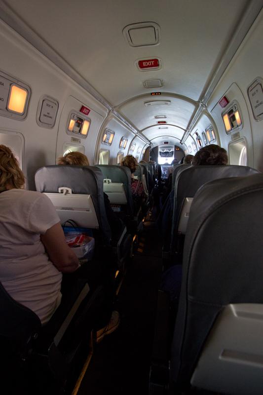 Smallest passenger plane I've ever flown on: no description