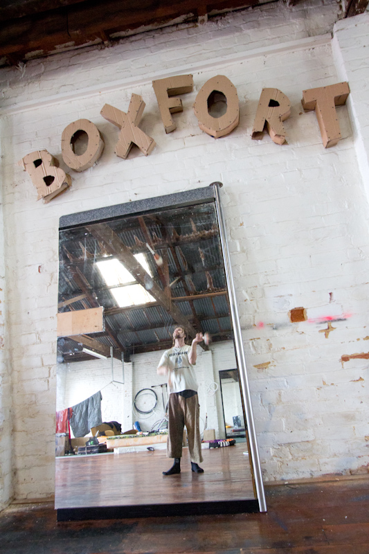 New Zealand: At the Box Fort, Dunedin.