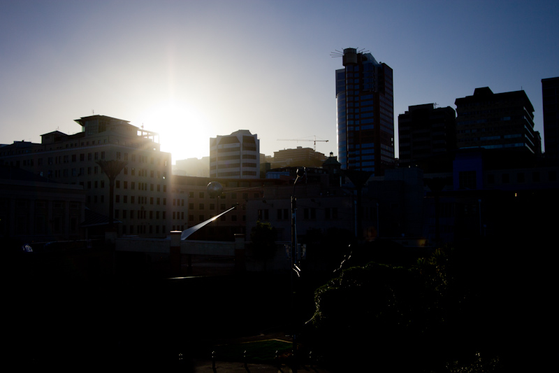 New Zealand: Wellington skyline.