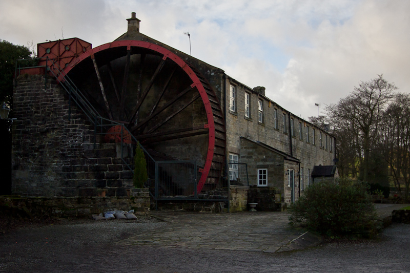 UK trip - January 2012: Old mill in Nidderdale.