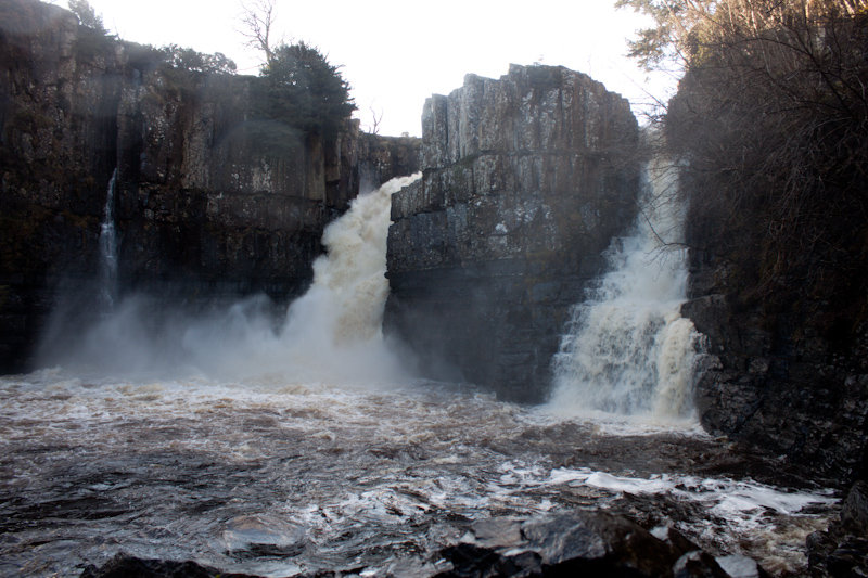 UK trip - January 2012: High Force.
