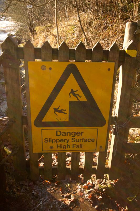 UK trip - January 2012: Danger!