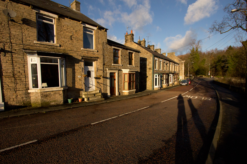UK trip - January 2012: I lived in this house in Middleton-in-Teesdale from 1991 to 1997.