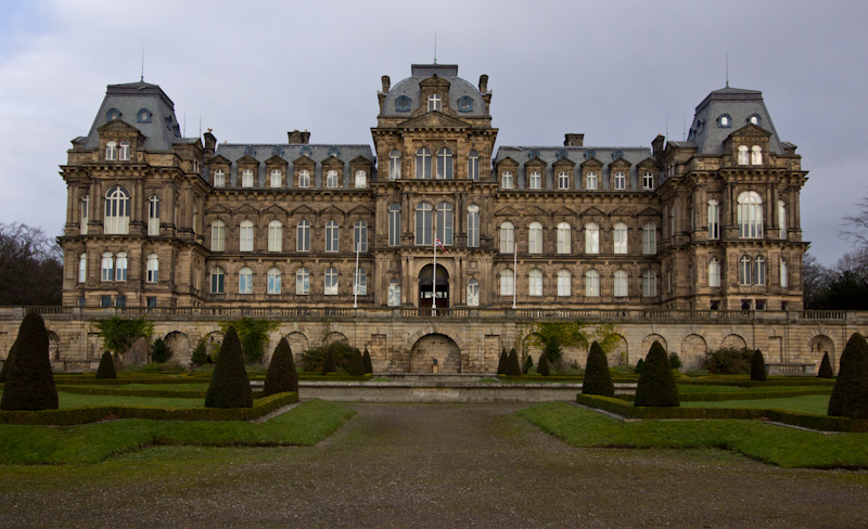 UK trip - January 2012: The Bowes Museum in Barnard Castle.