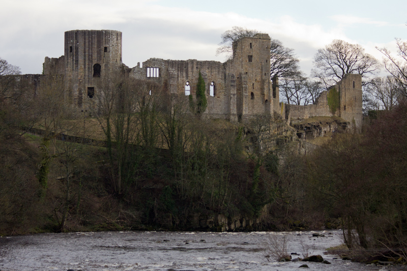 UK trip - January 2012: Barnard Castle in Barnard Castle.