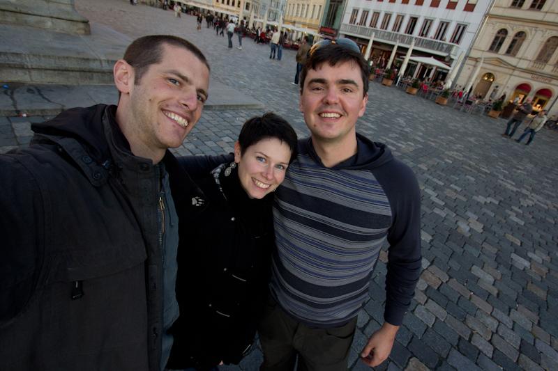 Dresden: Meeting Matt Harding.