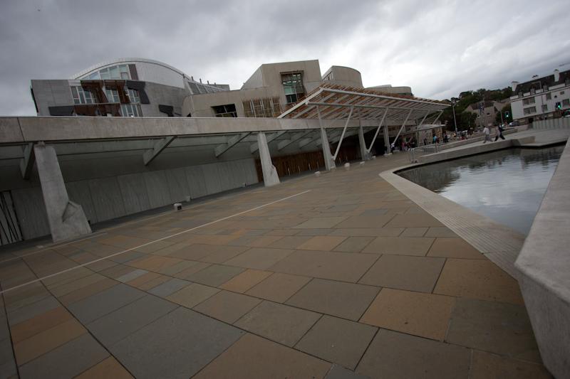 Edinburgh: Scottish Parliament building.
