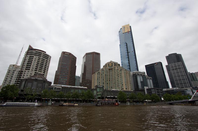 Melbourne: Melbourne skyline.