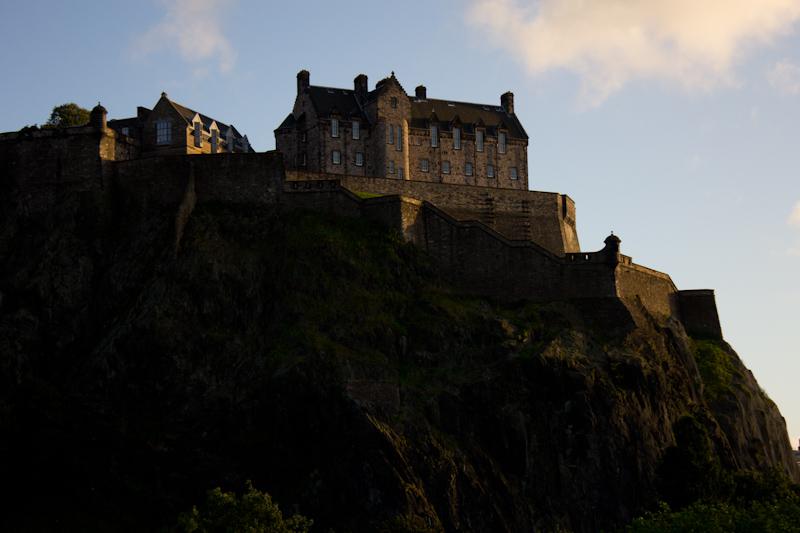 Edinburgh: Edinburgh Castle.